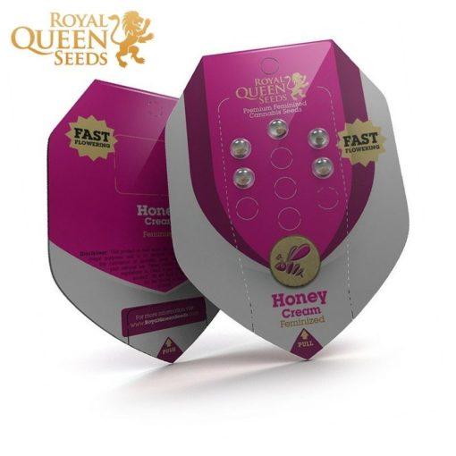 Semilla de Marihuana Honey Cream Fast Version - Royal Queen Seeds